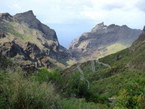Het landschap van Masca