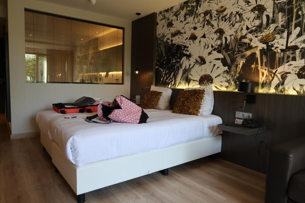 Hotelkamer van Van der Valk Hotel Heerlen.